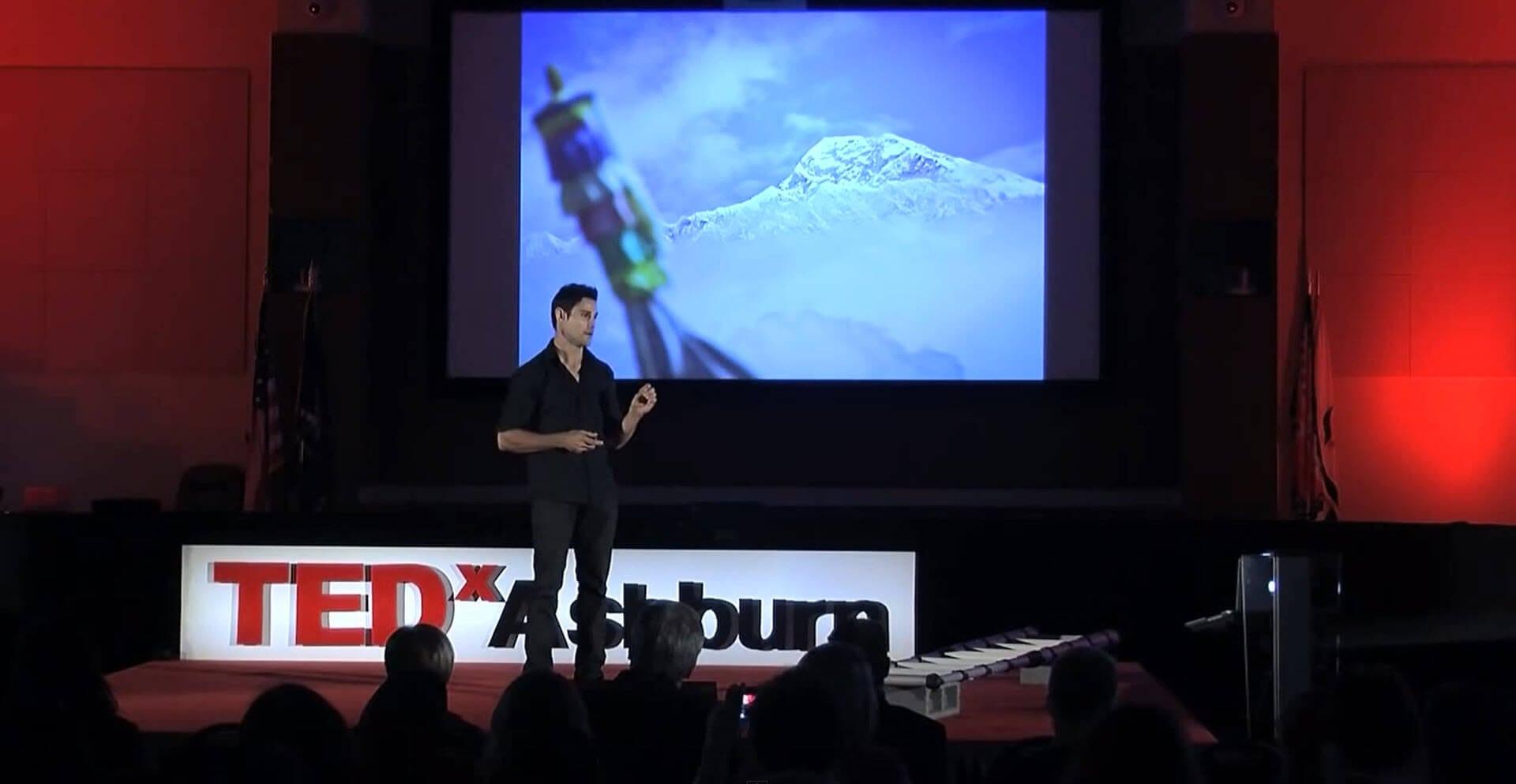 Elia Saikaly at TEDx in Ashburn